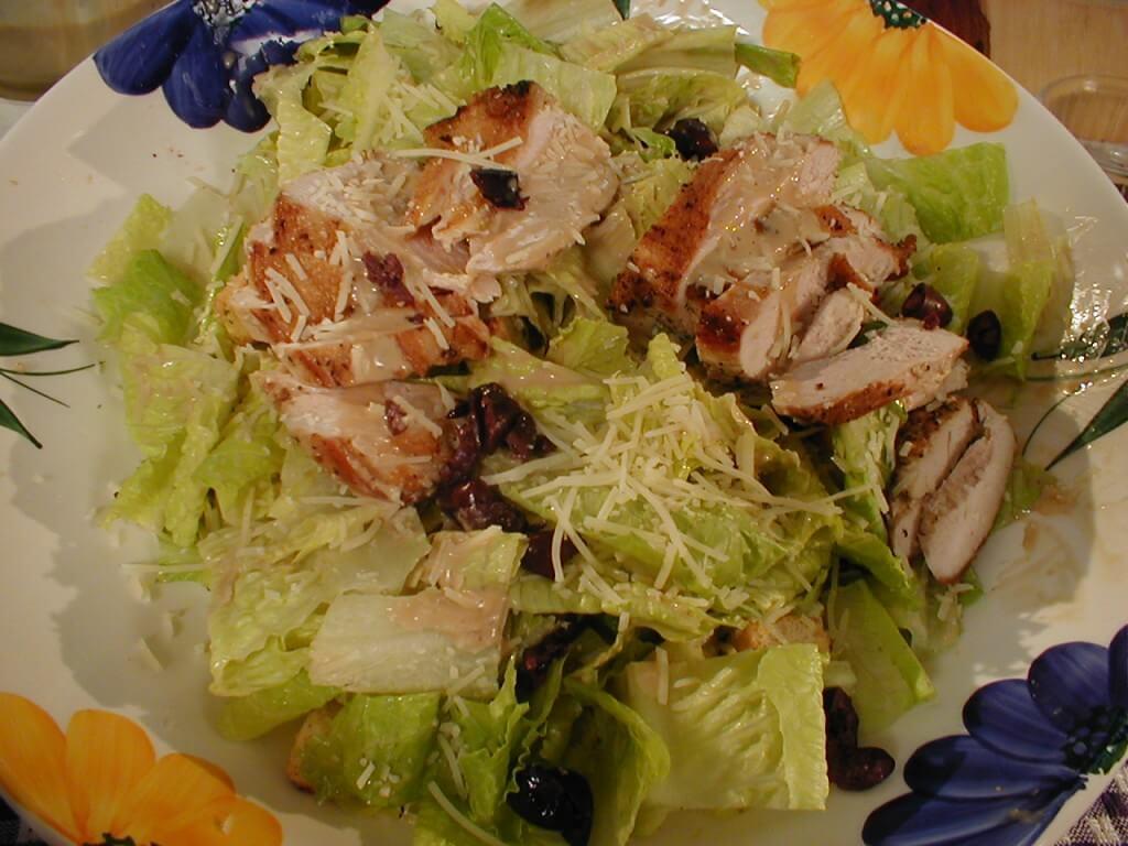 Caesar Pheasant Salad