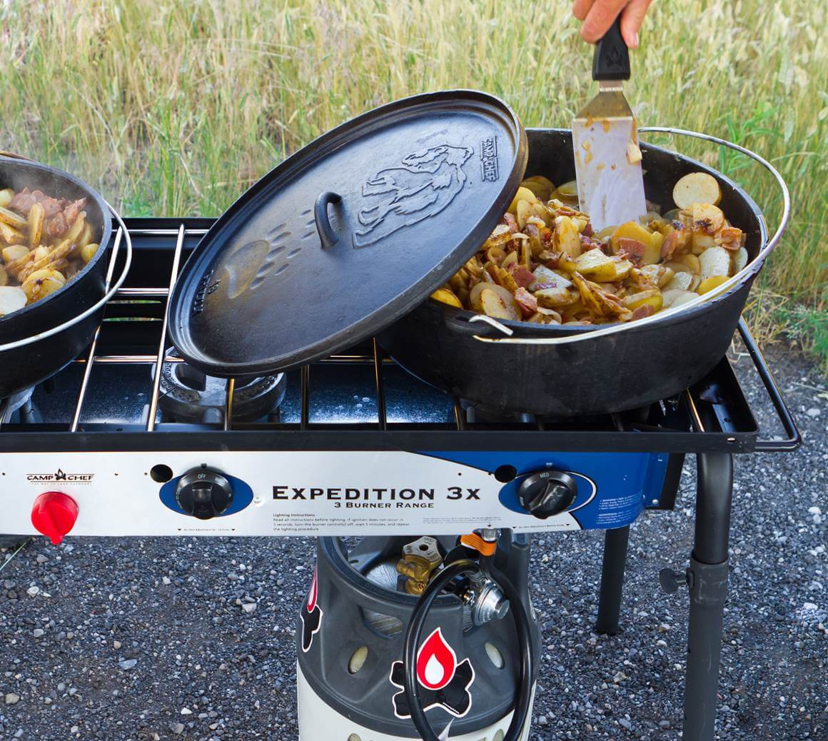 Camp Chef S Dutch Oven Potatoes The Sporting Chef