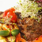 grilled steak medallion