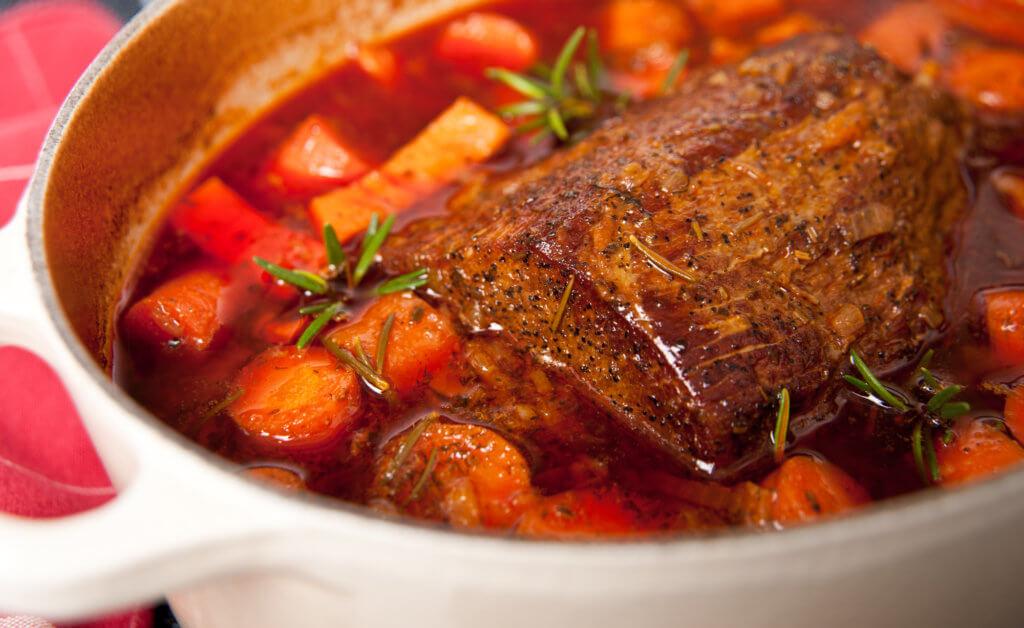 venison dutch oven roast