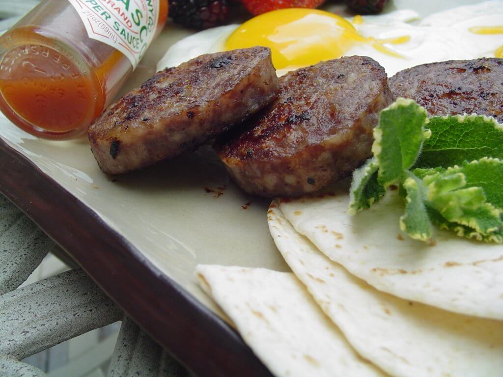 homemade venison sausage