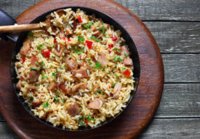 venison fried rice