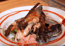 Grilled Salmon Collars